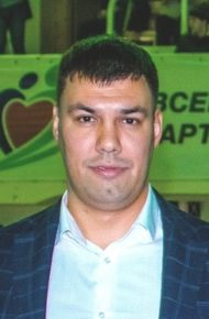 <b>АЛЕКСЕЕВ РОМАН ЮРЬЕВИЧ</b><br /> Президент Федерации регбола Чувашской Республики